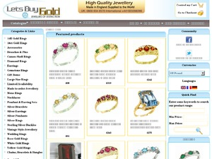 Lets Buy Gold website