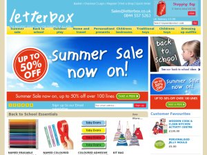 Letterbox website