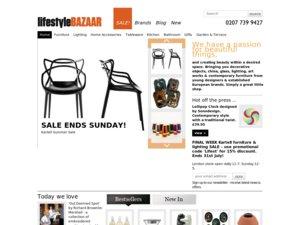 LifeStyleBazaar website