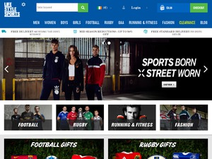 Life Style Sports website