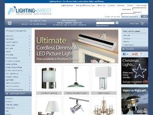 Lighting Direct website