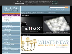 Lighting Centre website