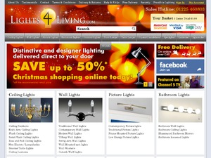 Lights 4 Living website