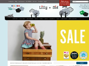 Lilly & Sid website
