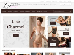 Lingerie.co.uk website