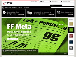 Linotype website