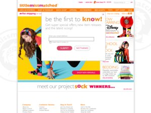 Little Miss Matched website