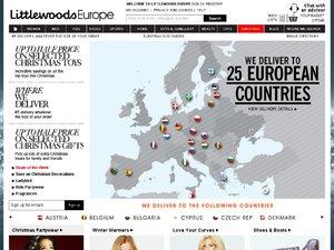 Littlewoods EU website