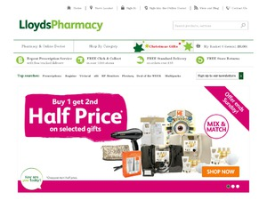 Lloydspharmacy website