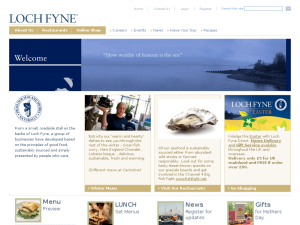 Loch Fyne website