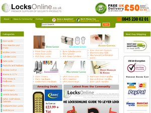 Locks Online website