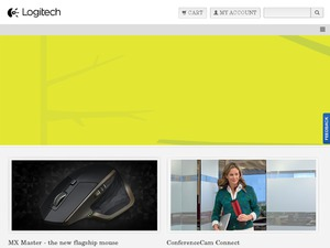 Logitech website
