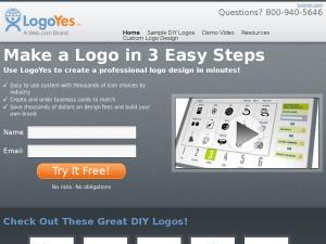 LogoYes.com website