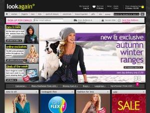 Look Again website