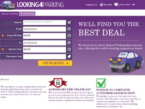 Looking4Parking website