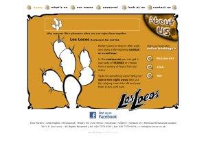 Los Locos website