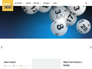 Lotto365 website