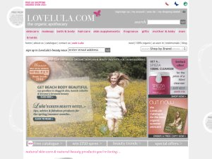Love Lula website