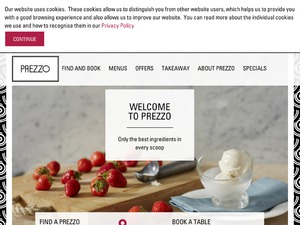 Prezzo website