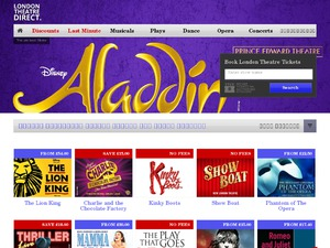 LondonTheatreDirect.com website