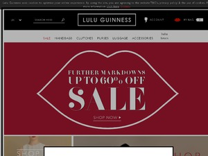 Lulu Guinness website