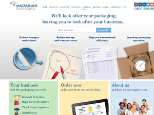 Macfarlane Packaging website