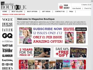 magazineboutique website