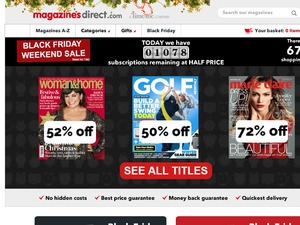 Magazines Direct website