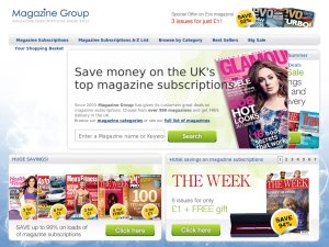Magazine Group website