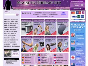 Magnetic Therapy website