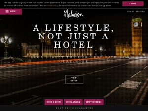 Malmaison website