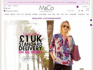 M&Co website