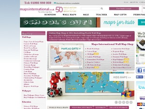 Maps International website