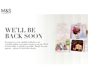 Marks and Spencer Cards website