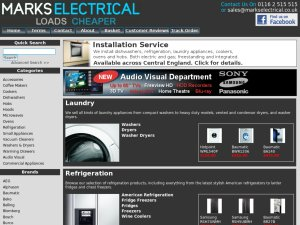 Marks Electrical website