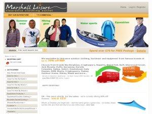 Marshall Leisure website