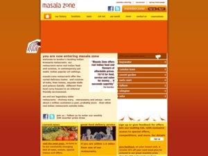 Masala Zone website