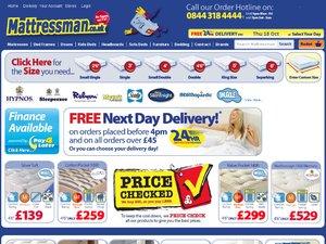Mattressman website
