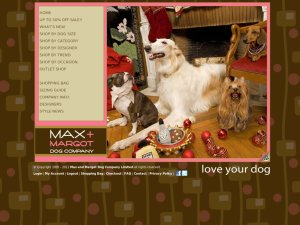 Max and Margot website