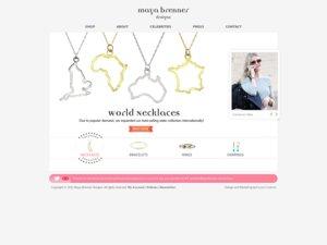 Maya Brenner website