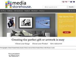 MediaStorehouse website