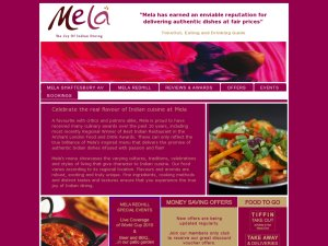 Mela website