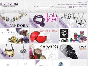 Me Me Me Accessories website