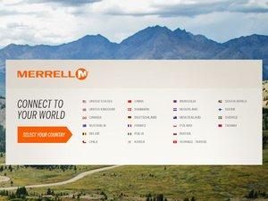 Merrell UK website