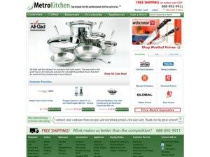 MetroKitchen.com website