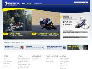 Michelin website