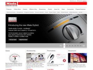 Miele website