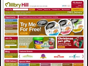 Millbry Hill website