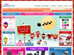 Minibarratts website