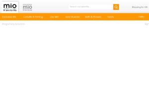 Mio Skincare website